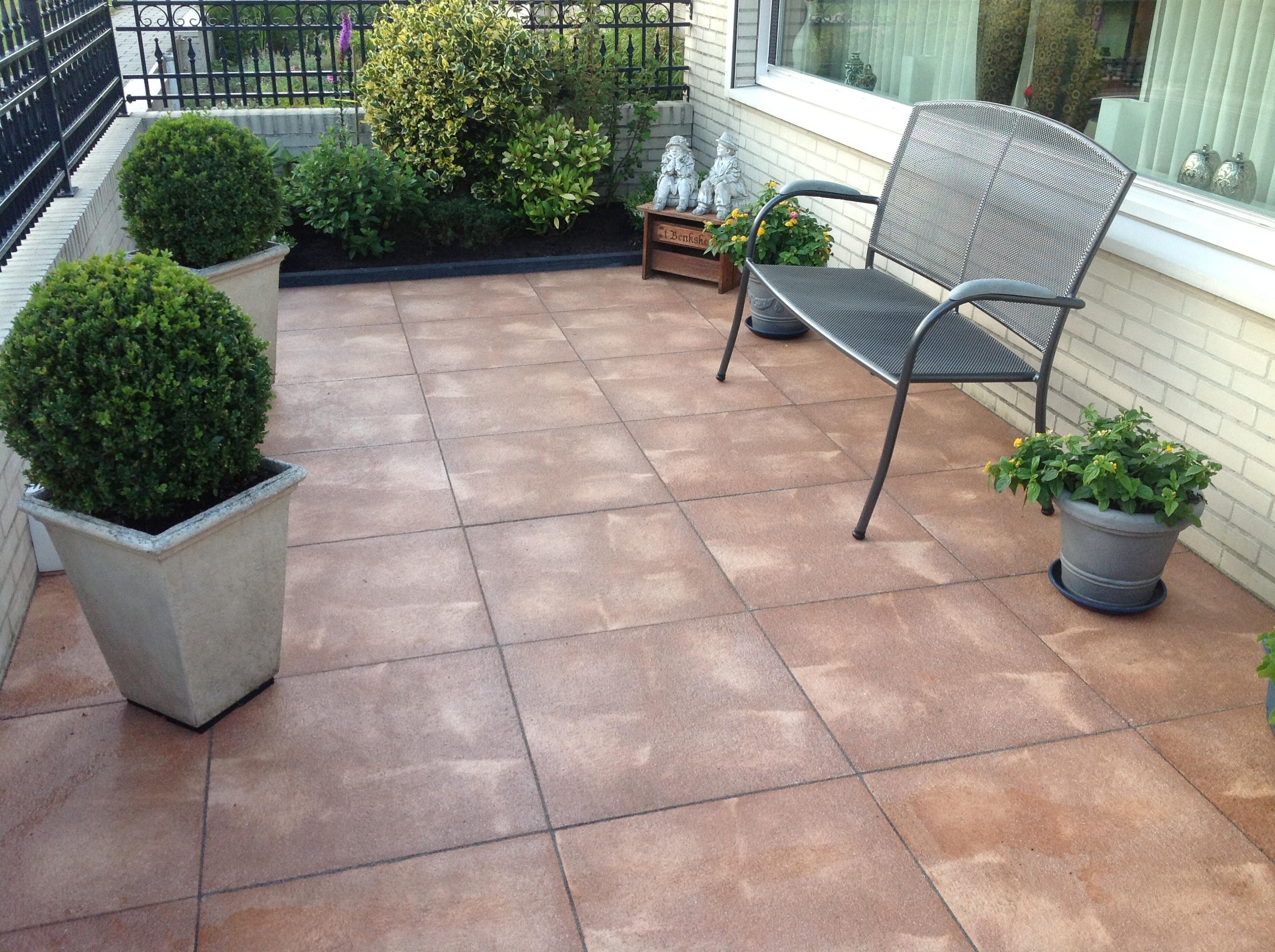 Sierbestrating en terrastegels livingstone goes - Overdekt terras tegel ...