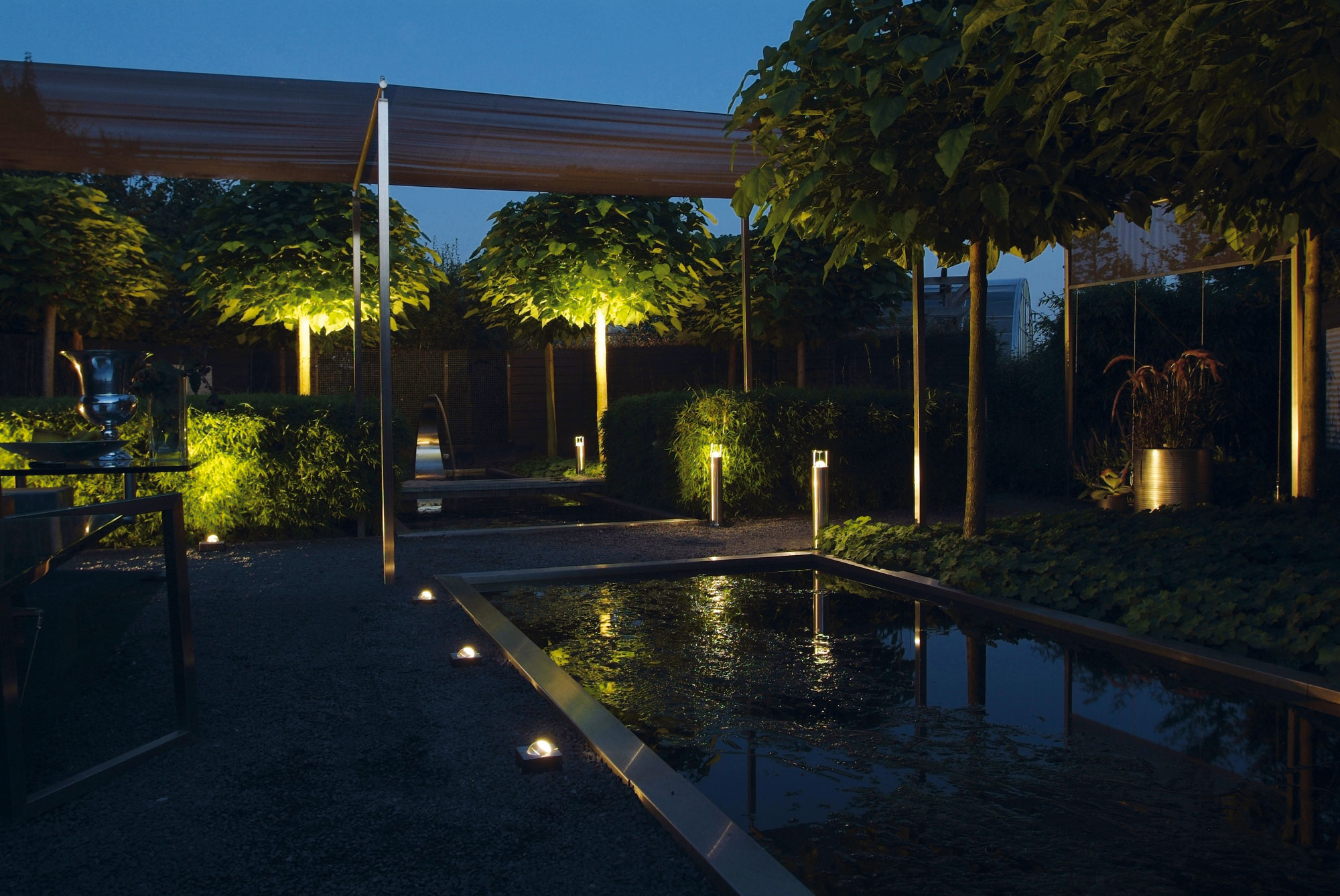Tuinverlichting livingstone goes livingstoneweg 2 goes - Huis in de tuin ...