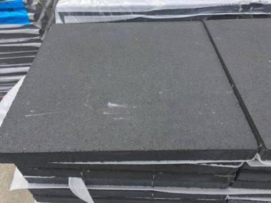 betonsteen 60x60 zwart livingstone goes