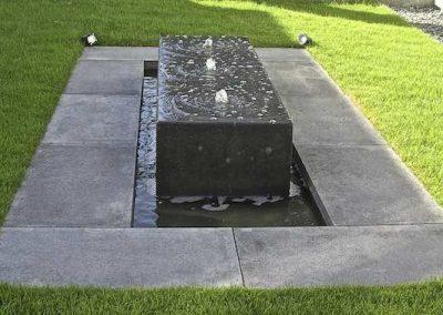 schellevis bank als fontein