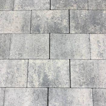 Grijs/zwarte straksteen beton 20x30x6