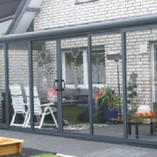 Aluminium tuinkamer Verasol Livingstone Goes Zeeland