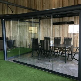 glasschuifwanden Verasol Livingstone Goes Zeeland
