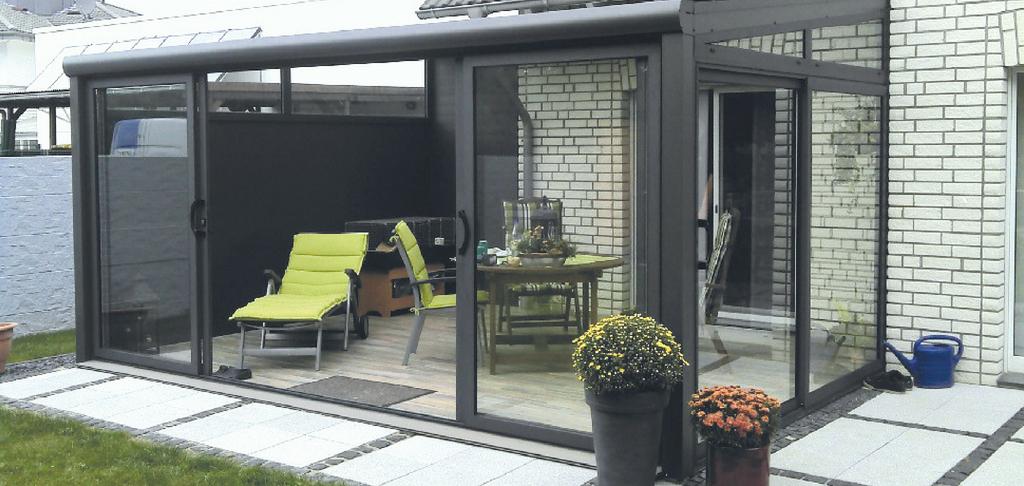 Wonderbaarlijk Verasol -- Aluminium - tuinkamer - Goes - Zeeland FL-92