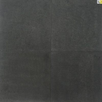 Binnen vloertegel – 60x60x1,5- natuursteen – Black night gebrand geborsteld Art D verkrijgbaar bij Livingstone Goes