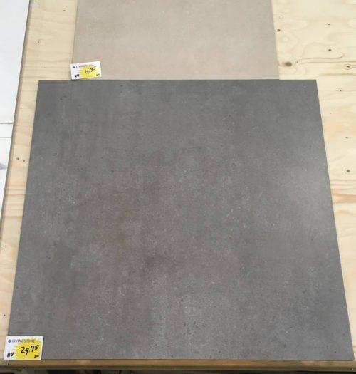 binnentegel dark grey 80x80 livingstone Goes