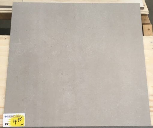 binnentegel light grey 60x60 Livingstone Goes