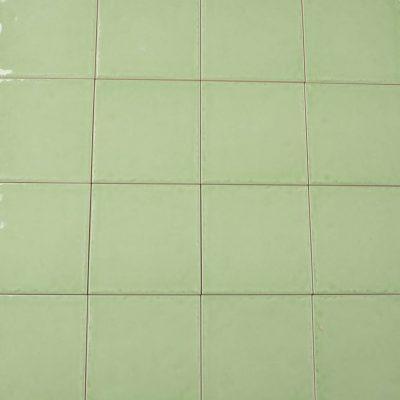Keramische wandtegel - 15x15 - Green - Art nr 1000