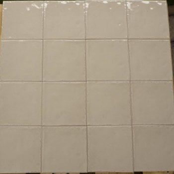 Keramische wandtegel – 15x15 - Beige - Art nr 1005