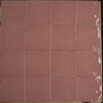 Keramische wandtegel – 15x15 - Rose - Art nr 1008