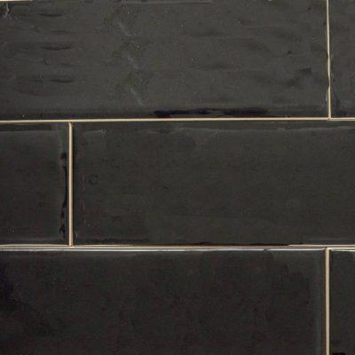Keramische wandtegel – 10x30 - Black emotion - Art nr 1009