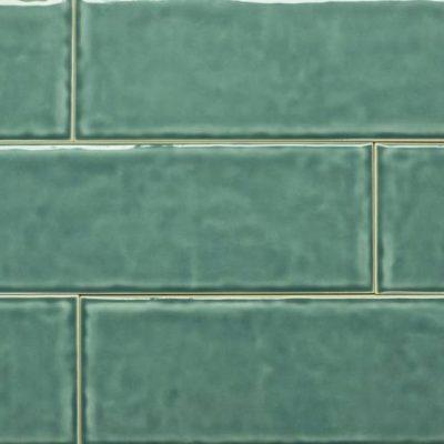 Keramische wandtegel – 10x30 - Green - Art nr 1020