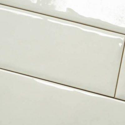 Keramische wandtegel – 10x30 - Creme - Art nr 1027