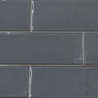 Keramische wandtegel – 10x30 - Grey - Art nr 1033