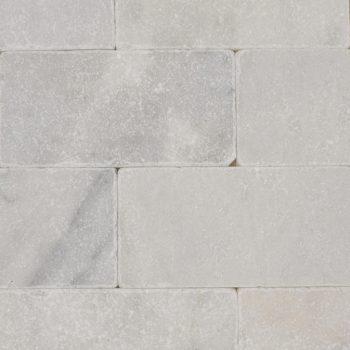 Natuursteen binnentegel - 10x20x1 - Mugla white - Art nr 153
