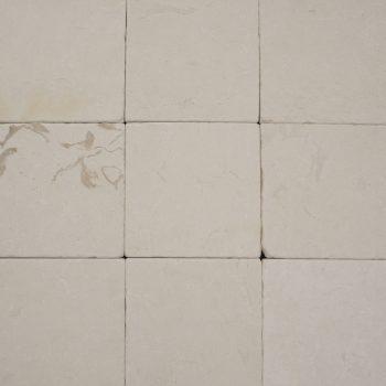 Natuursteen binnentegel - 15x15x1 - Classic lime stone - Art nr 162
