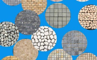 Natuursteen mozaïektegels