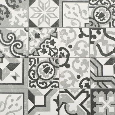 Binnentegel - 25x25 - Borne grey - Art nr 1107
