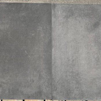 Keramische buitentegel 60x60 concrete black€27,50 pm2 Art nr P1