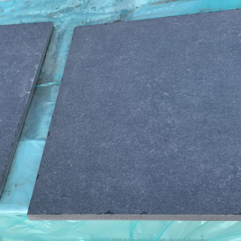 Keramische buitentegel 60x60 Ardena dark blue getrommeld