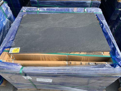 Keramische buitentegel 60x90 Wells slate Black