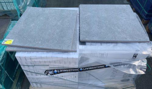 keramische buitentegel Art 92 60x60 Spectre Grey